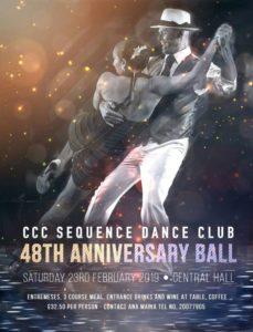 CCC Sequence Dance Club Gibraltar Actuación Alejandra Sabena